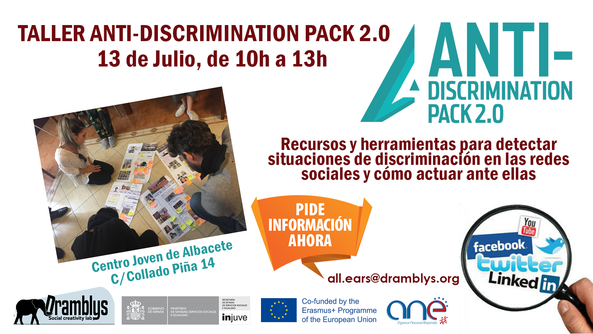 Taller Anti-discrimination Pack 2.0
